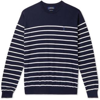 Polo Ralph Lauren Striped Pima Cotton Sweater