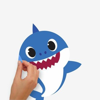 Room Mates RoomMates Baby Shark Peel and Stick Wall Decals