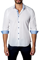 Jared Lang Cotton Button-Down Sportshirt