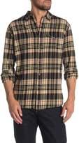 Lost Frenzy Long Sleeve Plaid Print Flannel Shirt