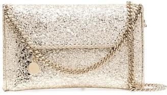 Stella McCartney Falabella metallic crossbody bag
