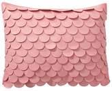 Pottery Barn Teen The Emily & Meritt Mermaid Scallop Pillow Cover, 16x12, Multi