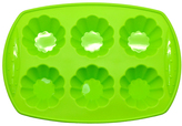 Green Flower Silicone Cupcake Pan - Set of Two