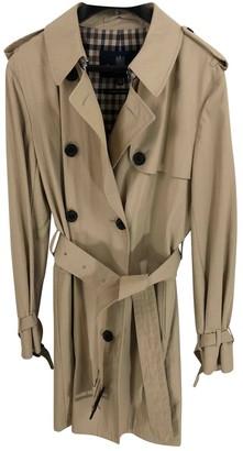 Aquascutum London Beige Cotton Coat for Women