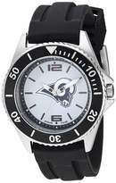 Game Time Gametime Men's Stainless Steel Analog-Quartz Watch with Rubber Strap