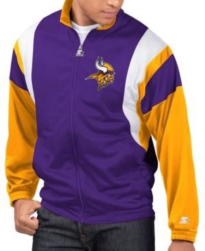 Starter Men's Minnesota Vikings The Contender Track Jacket