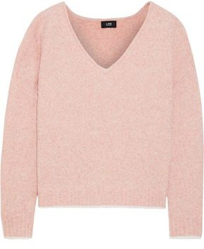 Line Melange Merino Wool-blend Sweater
