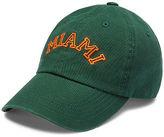 PINK University Of Miami Baseball Hat