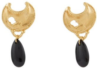 Alighieri The Onyx Nightfall earrings