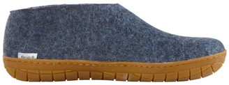 L.L. Bean Adults' Glerups Wool Slipper Shoes, Rubber Outsole