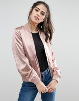 Only Starly Satin Bomber Jacket