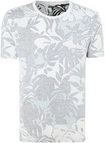 Levi's Men's Line 8 inside out tropical print t-shirt