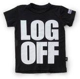 NUNUNU x RONROBINSON - Limited Edition Youth Custom Log Off T-Shirt