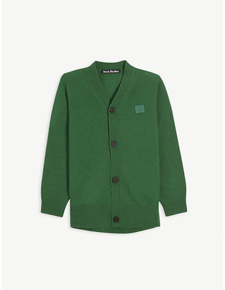 Acne Studios Keve V-neck wool cardigan 3-10 years