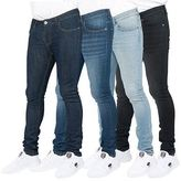 Loyalty And Faith Mens Denim Jeans Skinny Stretchy Slim Fit Pants Trousers