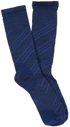 Smartwool Barber Pole Wool Blend Crew Socks