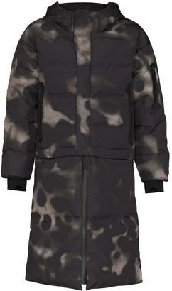 TEMPLA Nas oversized convertible puffer coat