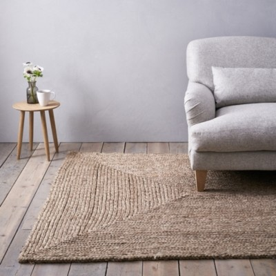 The White Company Braided Rug, Natural, Small