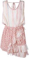 No.21 floral ruffle dress