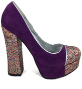 C Label Purple Artie Pump