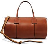 Loewe Barrel Leather Tote - Brown