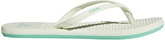 adidas Women's Eezay Soft W Mules Beige (Hi-res S18/aero Green S18) 10 UK