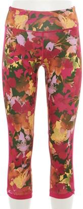 Tek Gear Women's Printed Capri Leggings