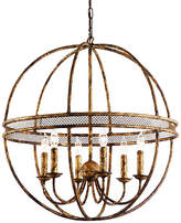 Chelsea House Tuscan 6-Light Chandelier - Old Gold