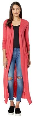 LAmade Reed Duster Cardigan (American Beauty) Women's Sweater
