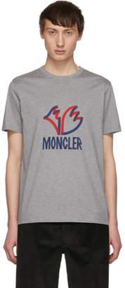 Moncler 2 1952 Grey Logo T-Shirt