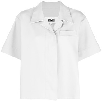 MM6 MAISON MARGIELA Short-Sleeved Cotton Shirt