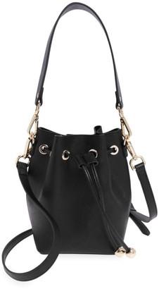 Tde Mini Leather Bucket Bag