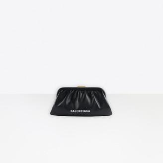 Balenciaga Cloud XS Clutch With Strap