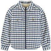 Bonpoint Fur-lined overshirt