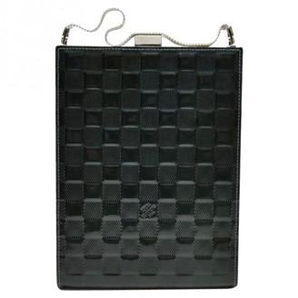 Louis Vuitton Ange Green Leather Handbags