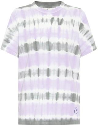 Etoile Isabel Marant Isabel Marant, étoile Dena tie-dye cotton T-shirt