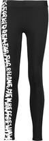 Rag & Bone Printed stretch-knit leggings