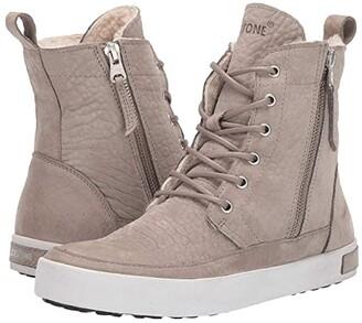 Blackstone High-Top Zip Boot - CW96 (Wild Dove) Women's Boots