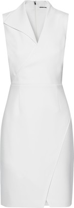 Elie Tahari Elodie Crossover Crepe Mini Dress