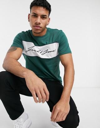 Jack and Jones short sleeve t-shirt in green