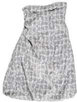 Jil Sander Strapless Mini Dress w/ Tags