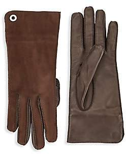Loro Piana Women's Guanto Jacqueline Leather & Suede Gloves
