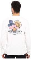 Vineyard Vines Long Sleeve Turkey Whale Pocket T-Shirt