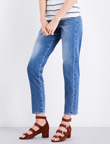 7 For All Mankind Slim straight high-rise jeans