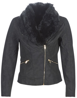 Only ONLCLASSY women's Leather jacket in Black