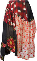 Simone Rocha patchwork skirt