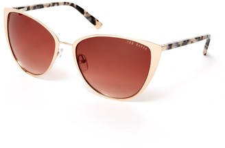 Ted Baker 52mm Full Metal Cat Eye Sunglasses