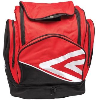 Umbro Pro Training Italia Backpack Red/White/Black