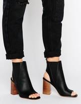 Asos EVOLVE Peep Toe Boots