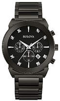 Bulova Men's Diamond Dial Chronograph Dress Watch